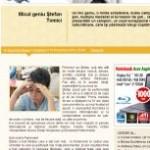Revista Felicia : Micul geniu Ştefan Tomici