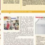 Revista Felicia: Cornel Amariei, cel mai tânăr inventator român