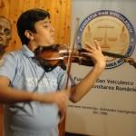 O vioară la Noaptea Muzeelor