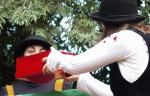 Teatru de păpuși în Grădina Valorilor Românești - Scufița Roșie