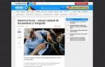 antena3.ro: Oameni și locuri – concurs national de documentare și fotografie