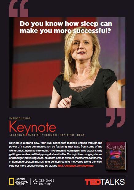 Concurs Keynote- TED Talk