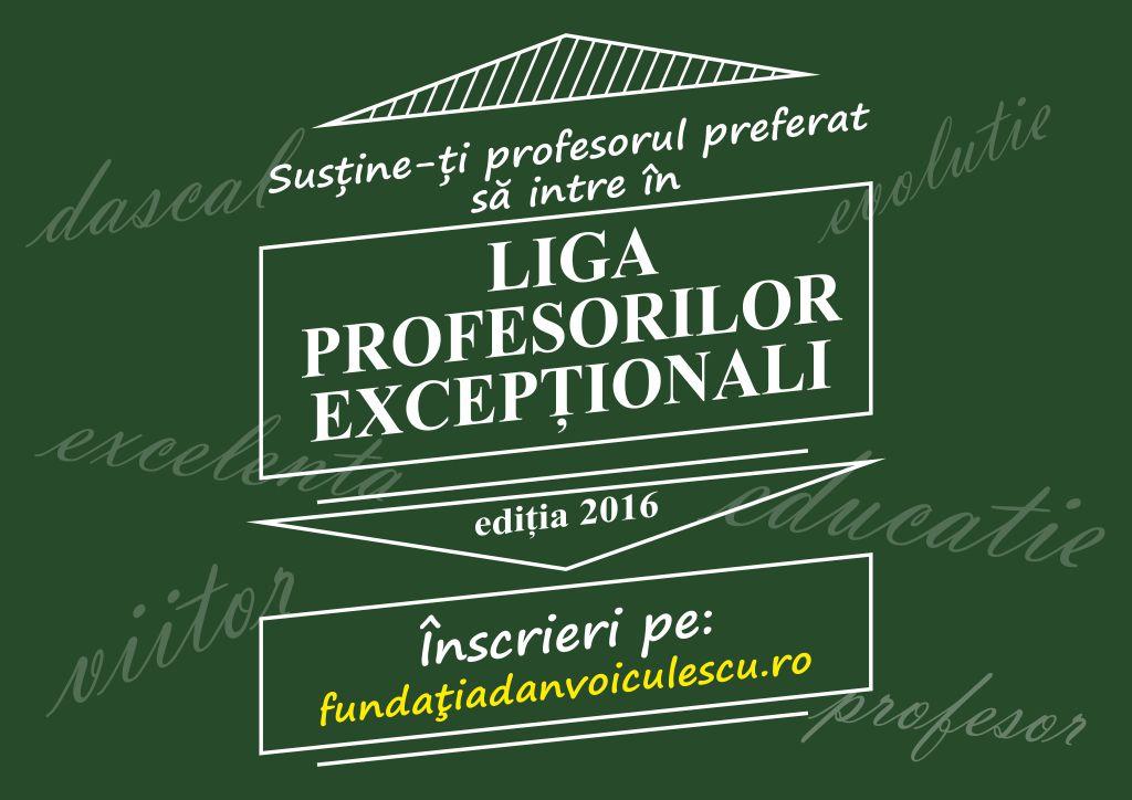 Liga profesorilor excepționali, ediția a III-…
