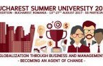 Bucharest Summer University 2017