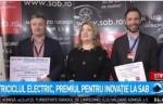Triciclul electric - premiu pentru inovație la SAB